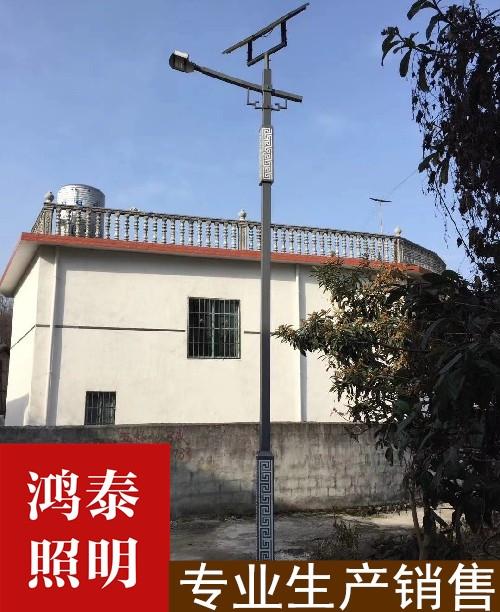 新疆8米回纹灯太阳能雷竞技官网网页版